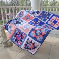 In Blue Quilt