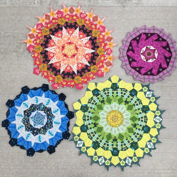 Millifiori Quilt Blocks